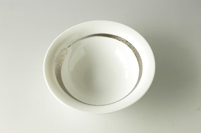 【限定9枚】白銀彩多用鉢 直径18.8cm×高さ6.2cm