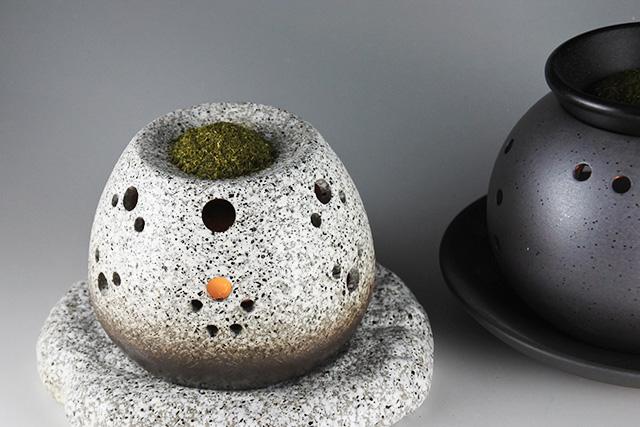 【まるでお茶屋さんの香り!】常滑焼 茶香炉