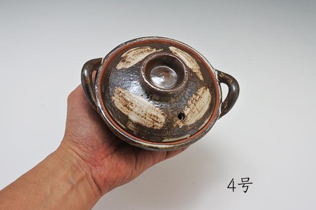 ぐつぐつがうれしい!手の平サイズのミニ土鍋
