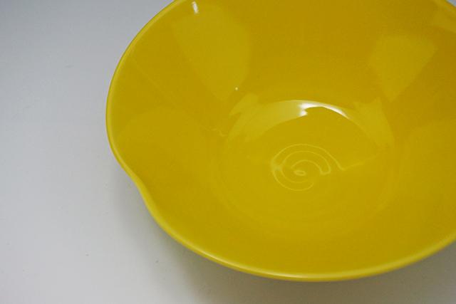 幸せの黄色い中鉢 イエロー預け鉢