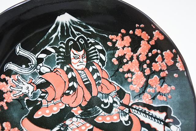 インパクト大!歌舞伎8寸皿