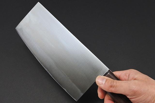 すぐに使える【紋三郎】鋼製 中華包丁入荷!