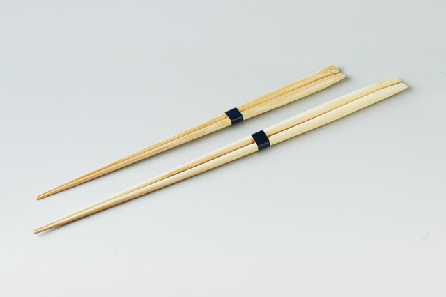 ご好評!抗菌コートの竹製盛り付け箸