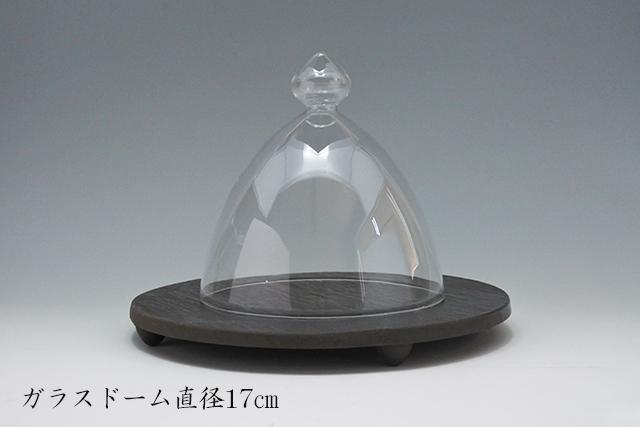 とっておきの一品に【ガラス製ドーム型カバー】