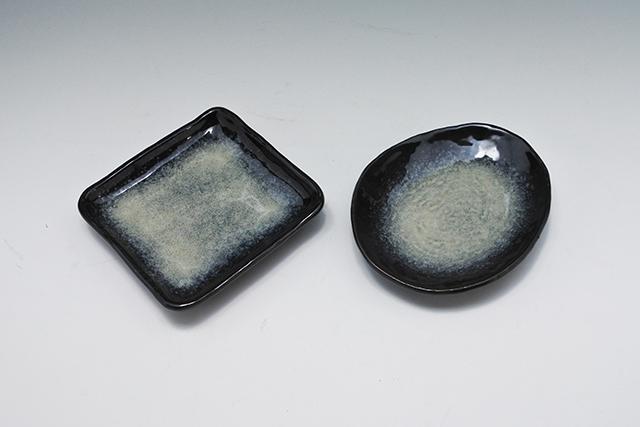 使い安い楕円形の取り皿【雲流 銘々皿】