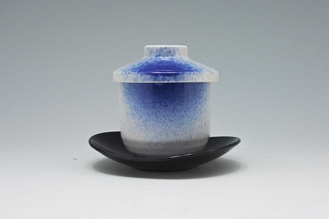 【容量140cc】白藍吹茶わんむしが新登場!