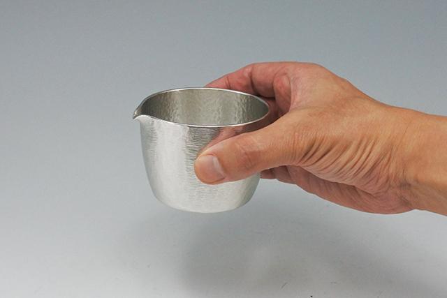 1合冷酒に【錫の片口 シルキー】