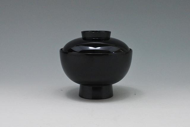 食洗機OK【ABS樹脂製 黒内朱 雑煮椀】