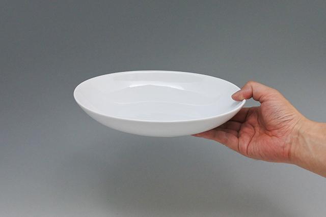 和食器 合羽橋まえ田 パスタにカレーに使える【ホワイトベーカー皿】