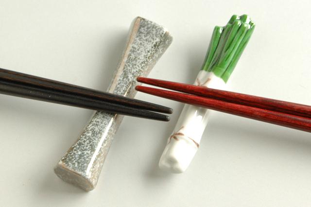 和食器 かっぱ橋まえ田 具象系はし置きのロングセラー【長ねぎ箸置き】